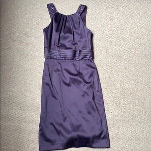 Antonio Melani semiformal dress with beaded straps